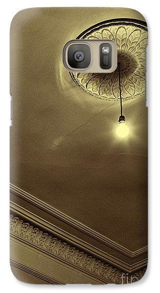Galaxy Case featuring the photograph Ceiling Light by Craig B