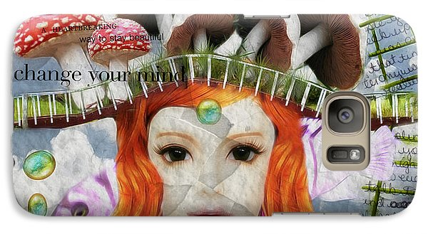 Galaxy Case featuring the digital art Celebrate Who You Are by Barbara Orenya