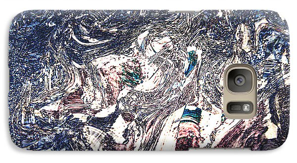 Galaxy Case featuring the digital art Celebration Of Entanglement by Richard Thomas