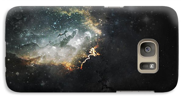 Galaxy Case featuring the photograph Celestial by Cynthia Lassiter