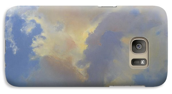 Galaxy Case featuring the painting Celina Evening by Cap Pannell