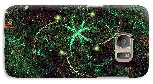 Galaxy Case featuring the digital art Celtic by Arlene Sundby