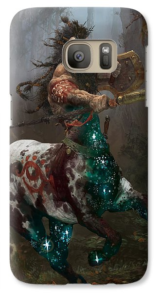 Centaur Token Galaxy Case by Ryan Barger