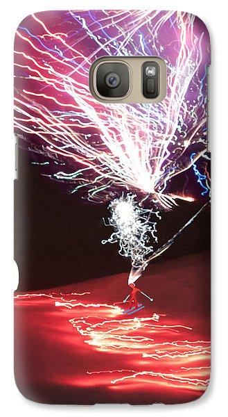 Galaxy Case featuring the digital art Centennial  Winter Carnival by Daniel Hebard