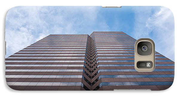 Galaxy Case featuring the photograph Center At 600 Vine by Rob Amend