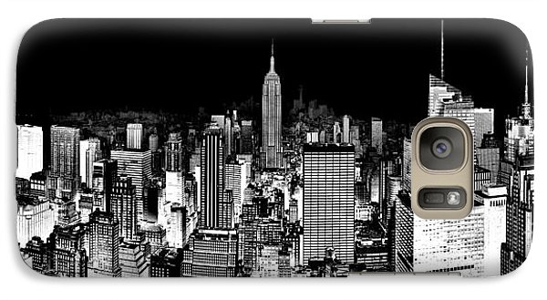 Empire State Building Galaxy S7 Case - Center Of The Universe by Az Jackson
