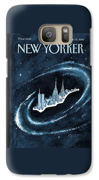 Chrysler Building Galaxy S7 Case - Center Of The Universe by Mark Ulriksen