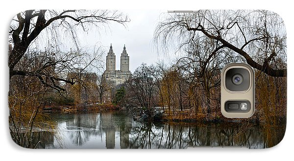 Central Park And San Remo Building In The Background Galaxy Case by RicardMN Photography