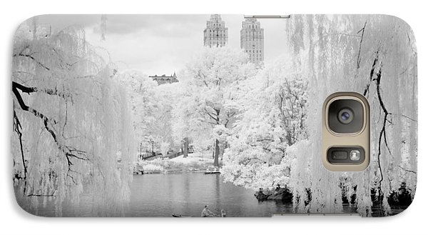 Central Park Lake-infrared Willows Galaxy S7 Case
