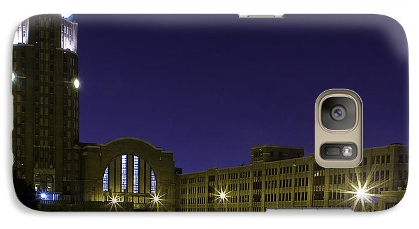 Galaxy Case featuring the photograph Central Terminal At Night  by Don Nieman