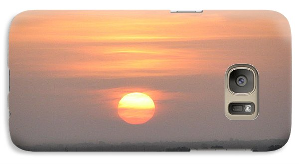 Galaxy Case featuring the photograph Central Texas Sunrise by John Glass