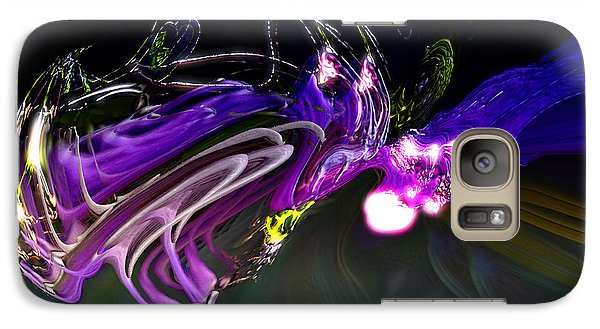 Galaxy Case featuring the digital art Cerebral Backlash by Richard Thomas