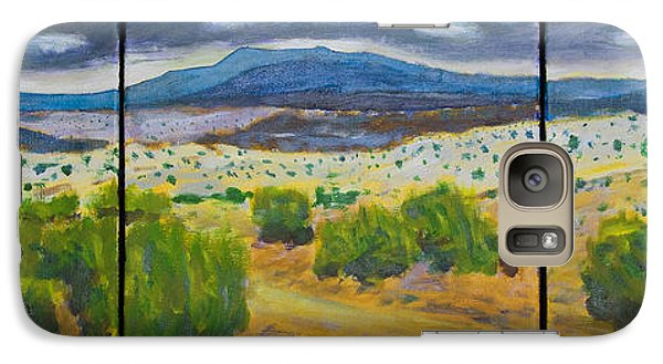 Galaxy Case featuring the painting Cerrillos Spring by John Hansen