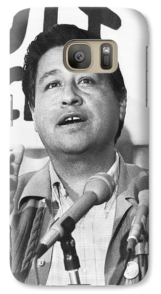 Cesar Chavez Announces Boycott Galaxy S7 Case by Underwood Archives