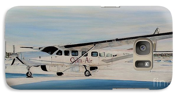 Galaxy Case featuring the painting Cessna 208 Caravan by Marilyn  McNish