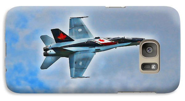 Galaxy Case featuring the photograph Cf18 Hornet  by Cathy  Beharriell