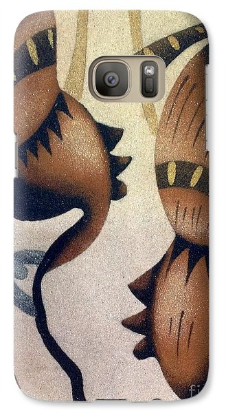 Galaxy Case featuring the photograph Chains by Fania Simon