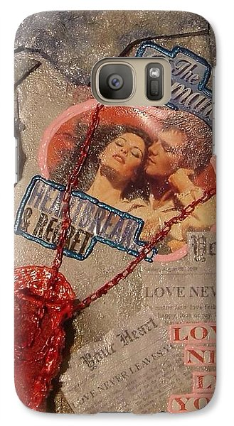 Galaxy Case featuring the painting Chains Of Love by Lisa Piper