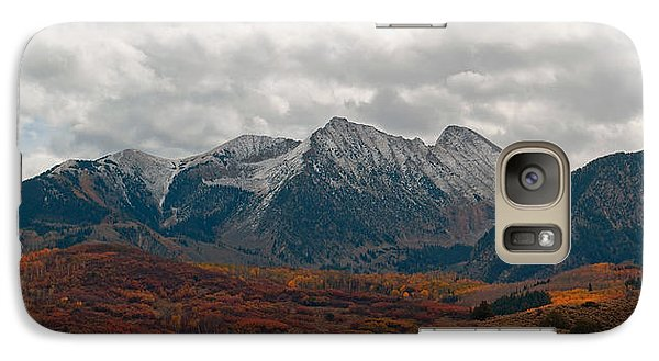 Galaxy Case featuring the photograph Chair Mountain  by Eric Rundle