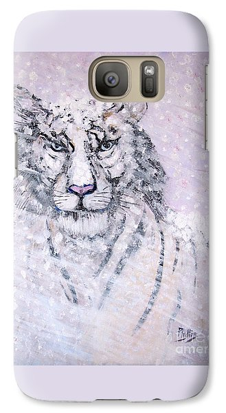 Galaxy Case featuring the painting Chairman Of The Board by Phyllis Kaltenbach