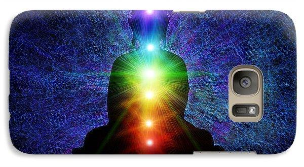 Chakra Buddha Galaxy S7 Case