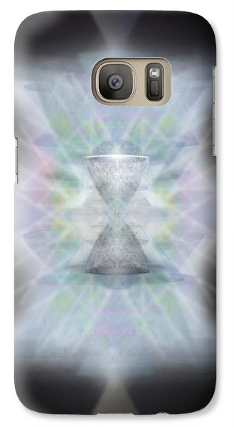 Galaxy Case featuring the digital art Chalice Emerging by Christopher Pringer