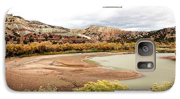 Galaxy Case featuring the photograph Chama River Swim Spot by Roselynne Broussard