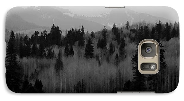 Galaxy Case featuring the photograph Chama Trees by Atom Crawford