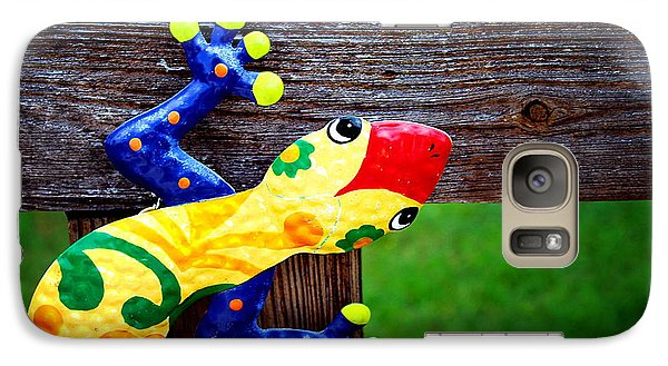 Galaxy Case featuring the photograph Chameleon by Greg Simmons