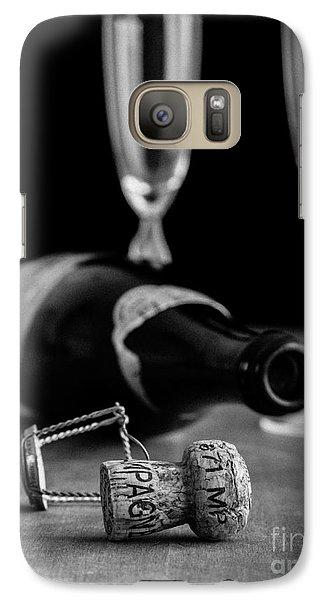 Champagne Bottle Still Life Galaxy S7 Case