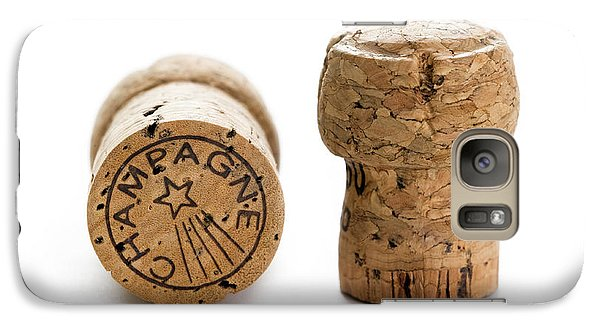Galaxy Case featuring the photograph Champagne Corks by Lee Avison