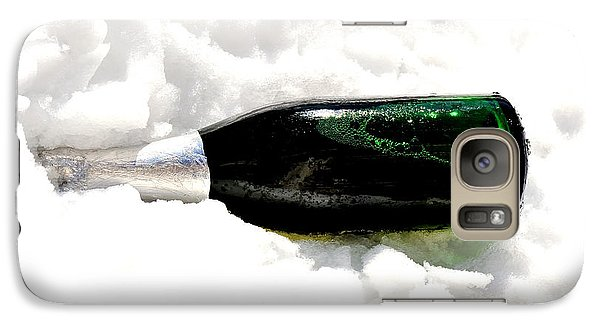 Galaxy Case featuring the photograph Champagne In Ice by Marwan Khoury