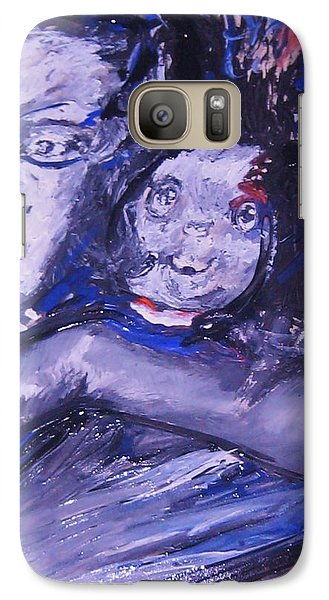 Galaxy Case featuring the painting Changes by Dawn Fisher
