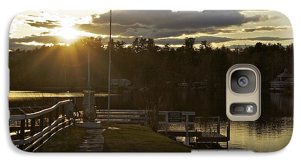Galaxy Case featuring the photograph Changing Skies by Alice Mainville