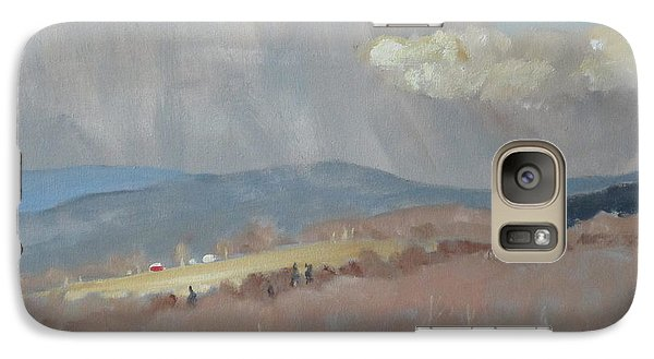 Galaxy Case featuring the painting Changing Weather by Len Stomski