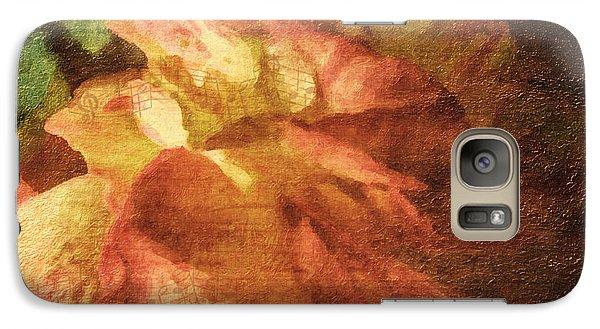 Galaxy Case featuring the digital art Chanson D'amour by Lianne Schneider