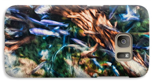Galaxy Case featuring the photograph Chaotic Mess by Joshua Minso