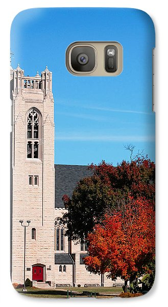 Galaxy Case featuring the photograph Chapel At The College Of The Ozarks by Lena Wilhite