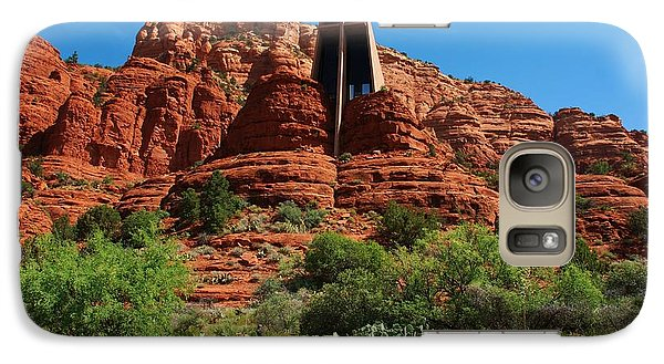 Galaxy Case featuring the photograph Chapel Of The Holy Cross by Dany Lison