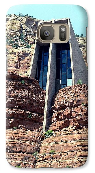 Galaxy Case featuring the photograph Chapel Of The Holy Cross by Philomena Zito