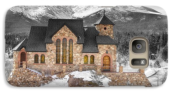 Chapel On The Rock Bwsc Galaxy S7 Case by James BO  Insogna