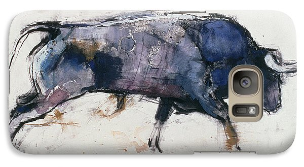 Buffalo Galaxy S7 Case - Charging Bull by Mark Adlington