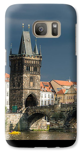 Charles Bridge Prague Galaxy S7 Case by Matthias Hauser