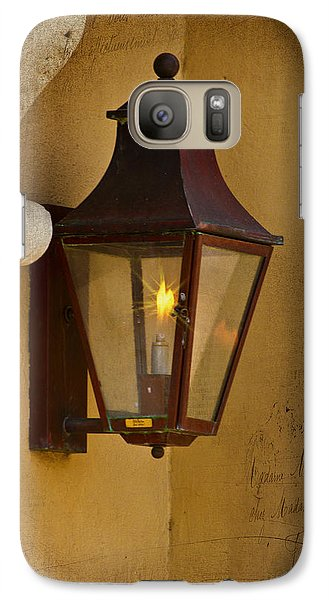 Charleston Carriage Light Galaxy S7 Case by Bill Barber
