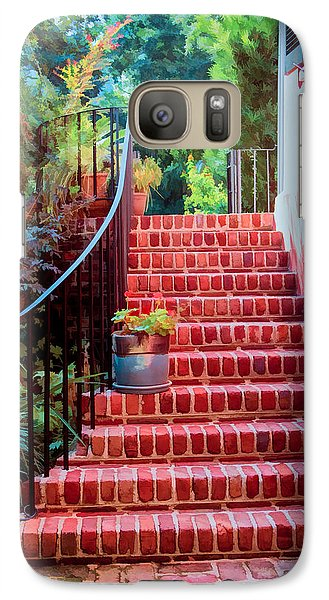 Galaxy Case featuring the photograph Charleston Charm by Mary Timman