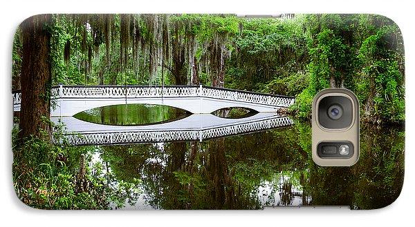 Galaxy Case featuring the photograph Charleston Sc Bridge by John Johnson