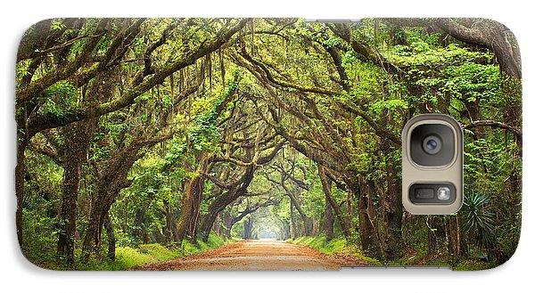 Charleston Sc Edisto Island - Botany Bay Road Galaxy S7 Case