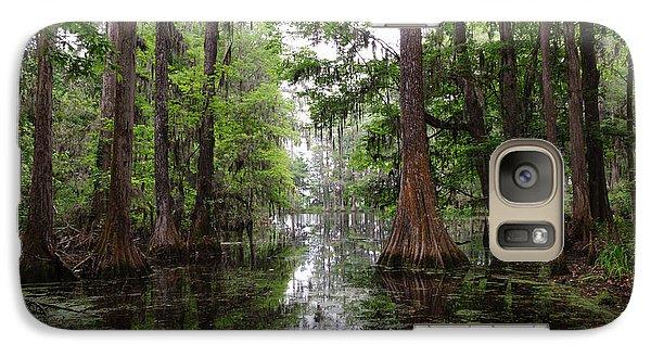 Galaxy Case featuring the photograph Charleston Swamp by John Johnson