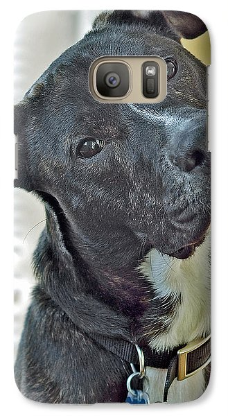 Galaxy Case featuring the photograph Charlie by Lisa Phillips