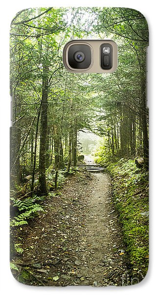 Galaxy Case featuring the photograph Charlies Bunion Bald Trail by Debbie Green